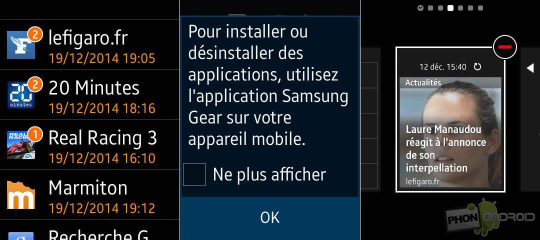 gear s widgets