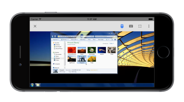 google invite iphone ipad mac chrome remote desktop
