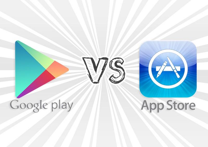 revenus play store vs apple store