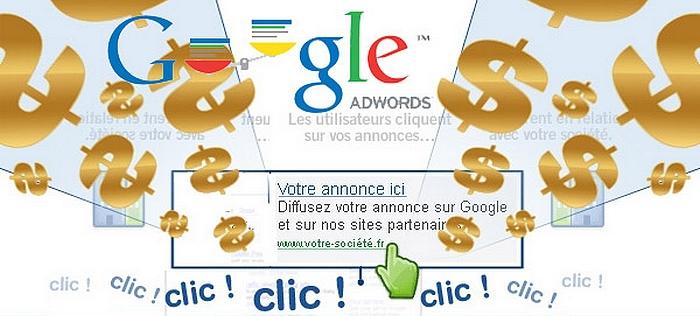 bénéfice pub google