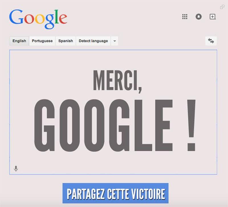 google traduction homophobie corrige