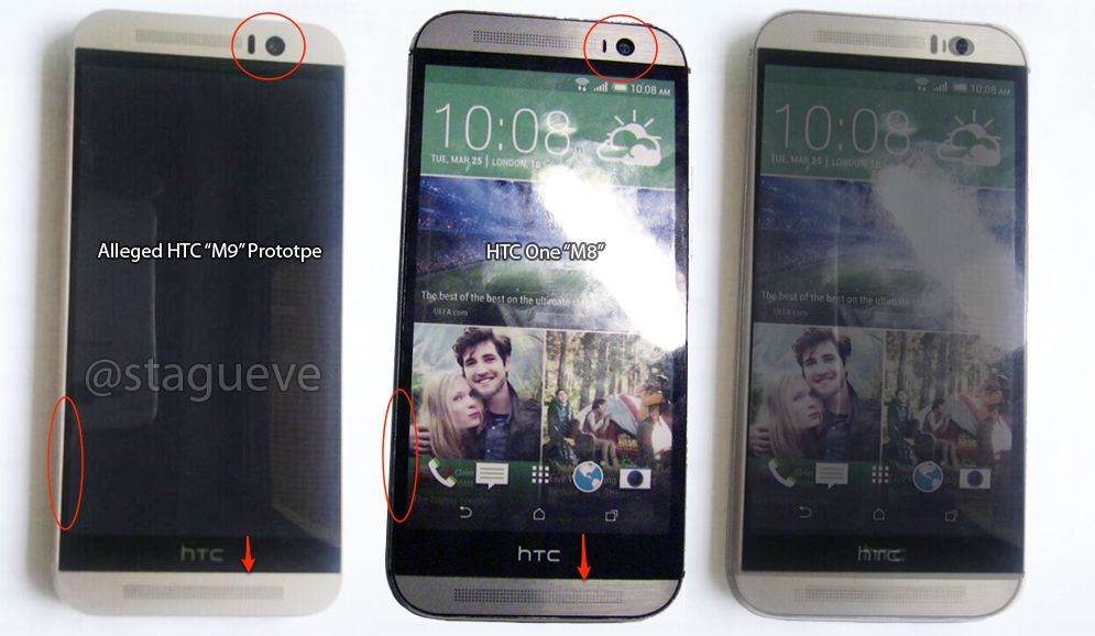 protoype HTC One M9 vs HTC One M8