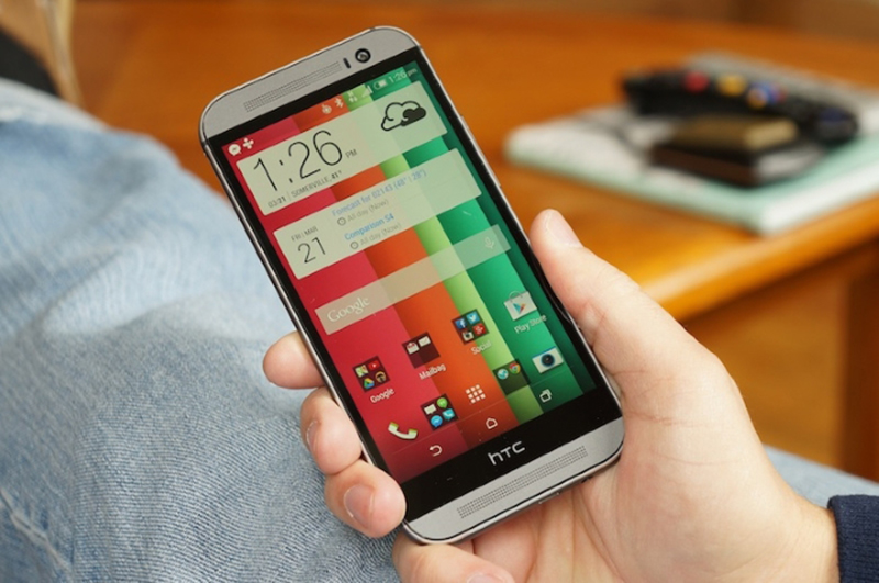 htc one m8 mise a jour android lollipop
