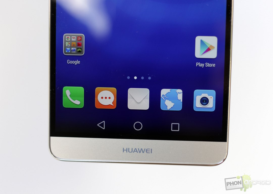 huawei ascend mate 7 gold touche tactile