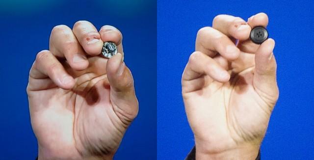 Intel Curie puce objet connectés