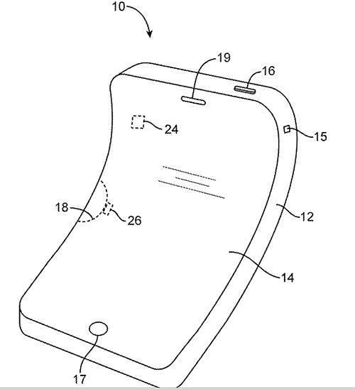 iphone flexible brevet apple