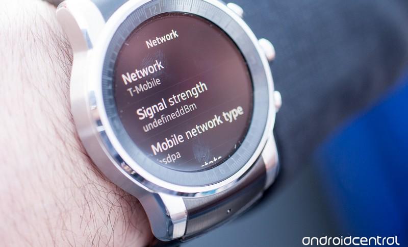 LG Audi smartwatch webOS