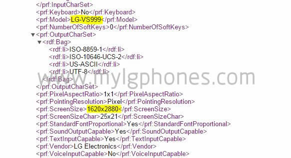 LG G4 avec écran 3K possible