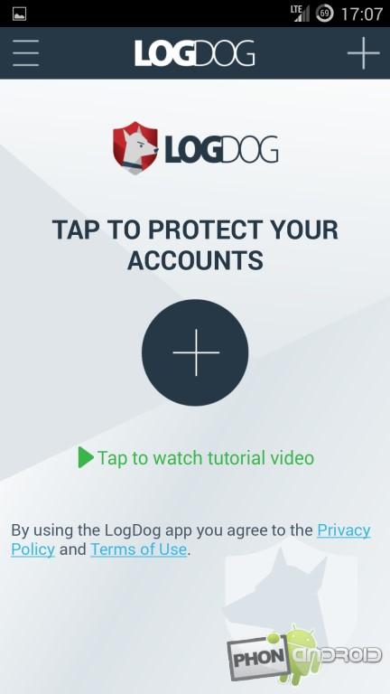 LogDog et l'ajout de comptes à surveiller