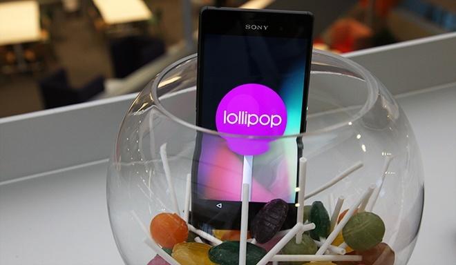 Sony Xperia Z3 Lollipop