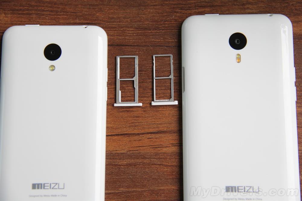 Meizu M1 et M1 Note, la carte SIM