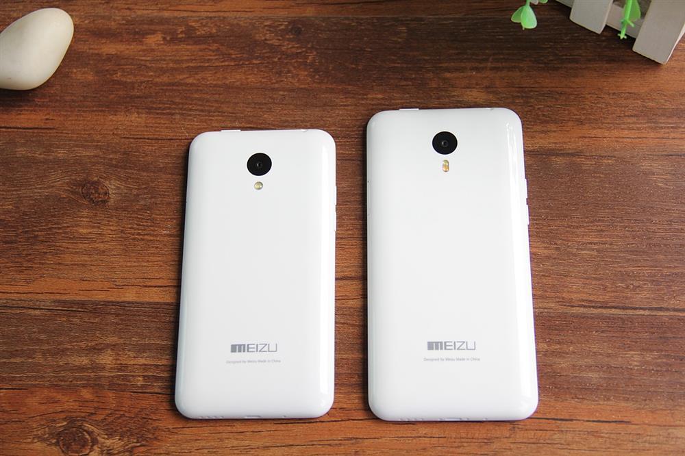 Meizu M1 et M1 Note, la coque arrière