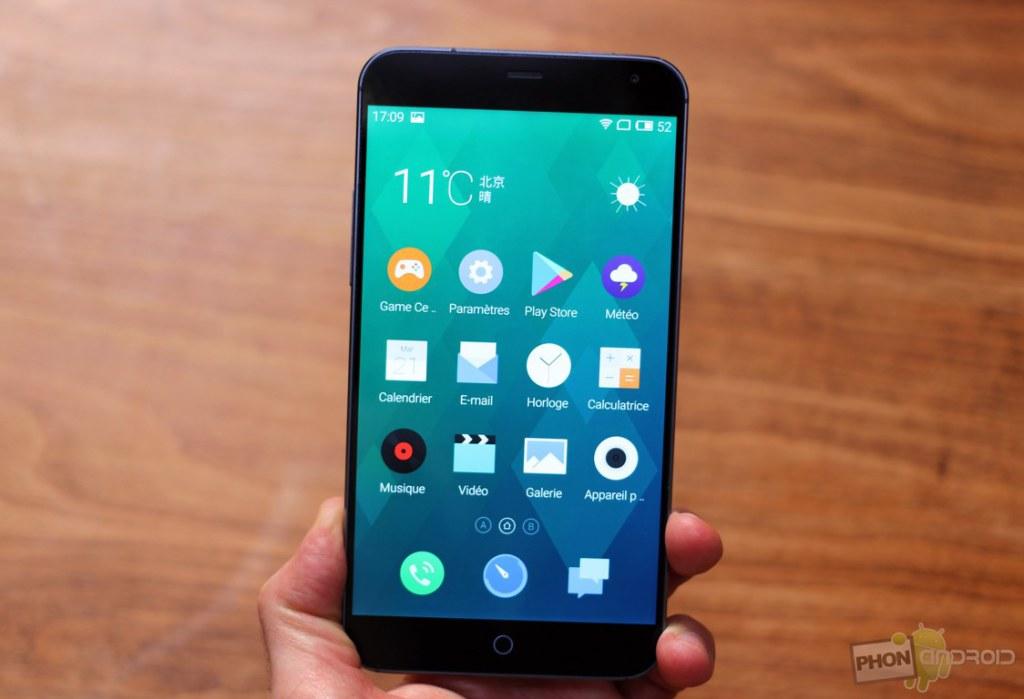 Le Meizu MX4, smartphone le plus puissant de l'année.