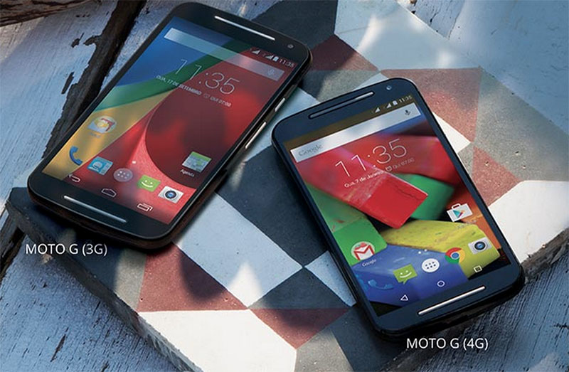 moto g 4G 2015 android lollipop officiel