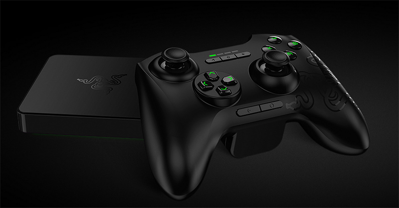 razer forge tv jouez pc android tv