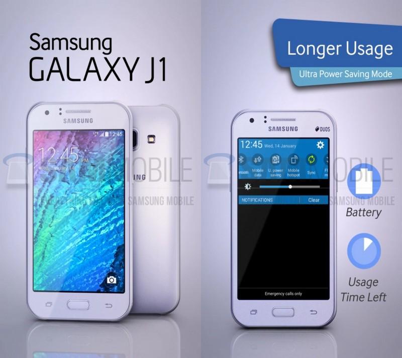 L'entrée de gamme Galaxy J1 sera à moins de 150€
