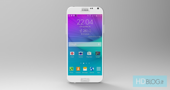 samsung galaxy s6 rendu photo