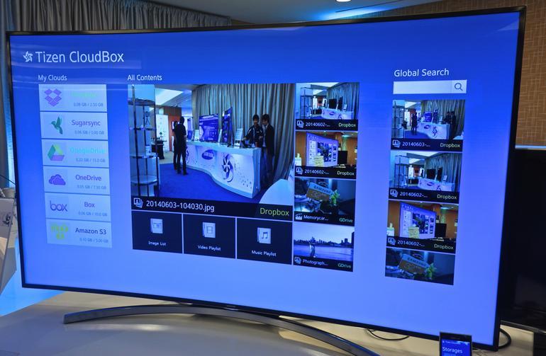 Samsung intègre Tizen à ses TV