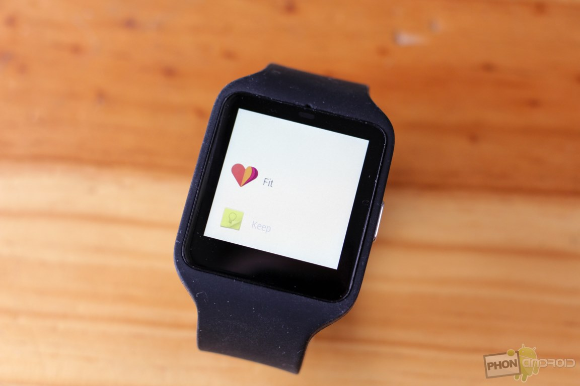 sony smartwatch 3 application