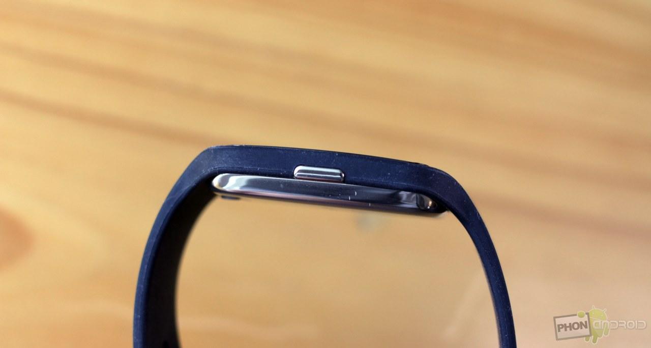sony smartwatch 3 bouton