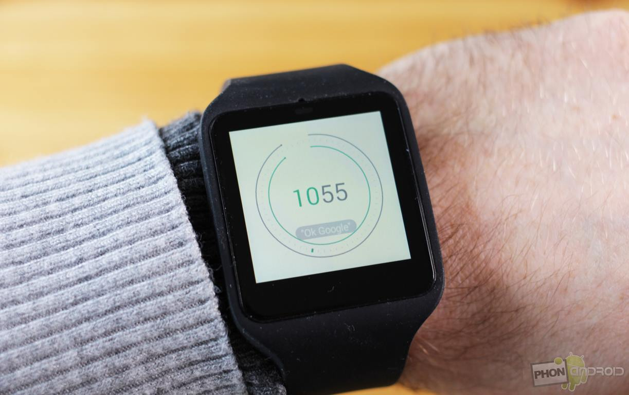 sony smartwatch 3 cadran montre