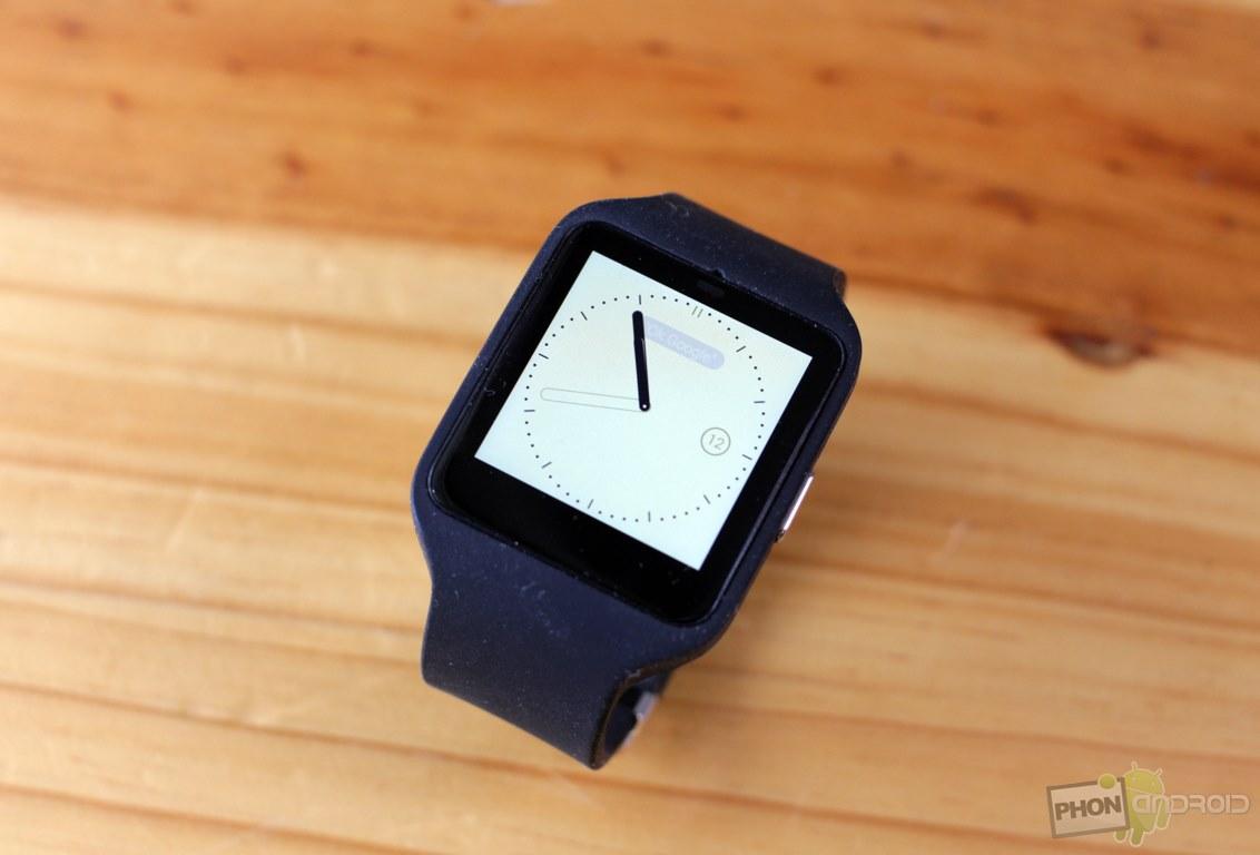 sony smartwatch 3 cadran