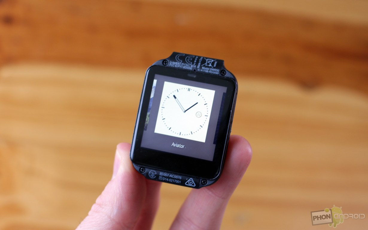 sony smartwatch 3 changer horloge