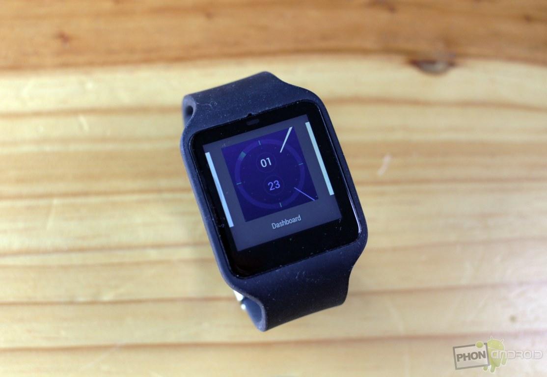 sony smartwatch 3 horloge