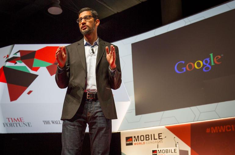 Sundar Pichai, Google's senior vice president of products