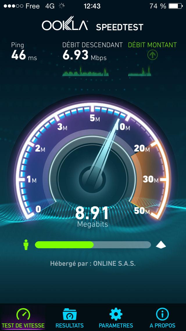 Free teste la 4G LTE en 1800 Mhz