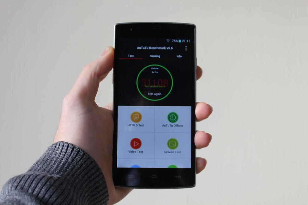 Ulefone be pro benchmarks