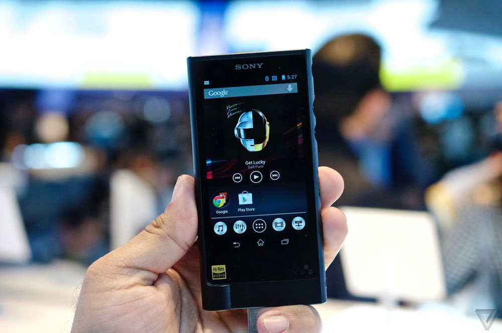 Sony Walkman, baladeur audiophile sous Android