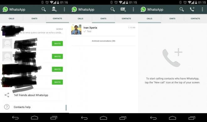 WhatsApp et les appels VoIP