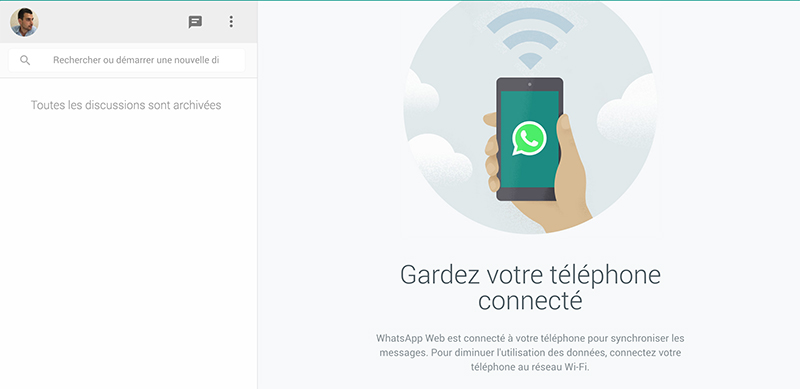 whatsapp version web mac pc