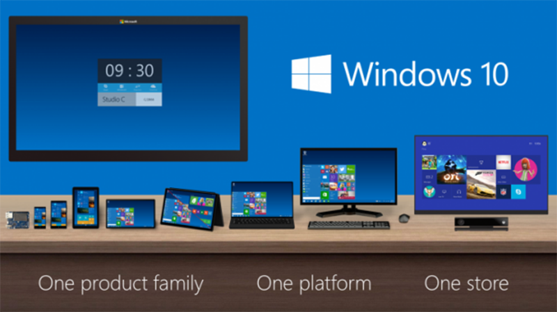 applications universelles windows 10