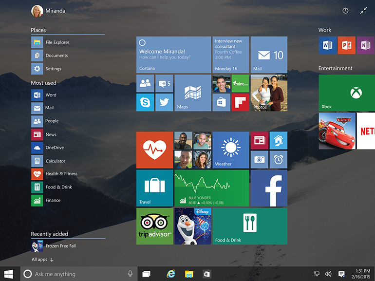 nouveau build windows 10