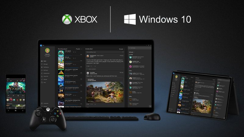 Windows 10 et le streaming de Xbox One