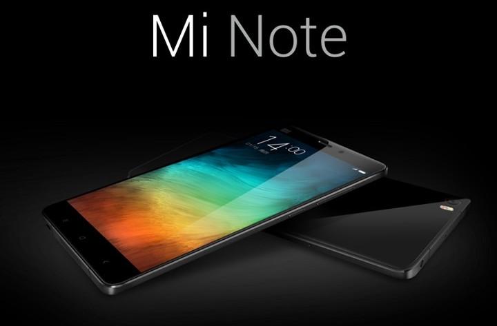 Xiaomi Mi Note becnhmark