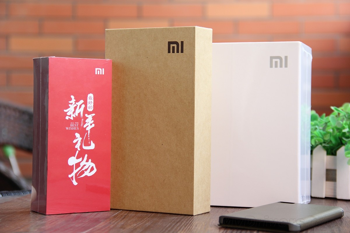 Xiaomi Mi Note packaging