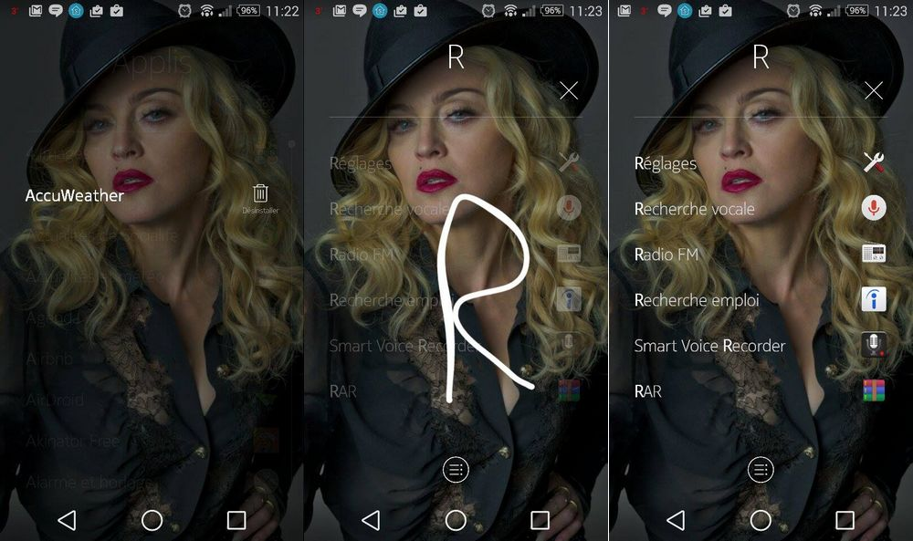 Nokia Z Launcher ameliorations