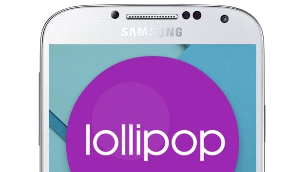 galaxy s4 mise à jour lollipop