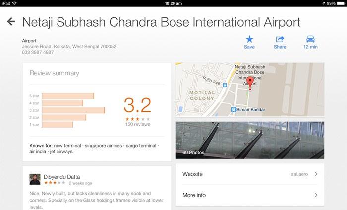 google maps place