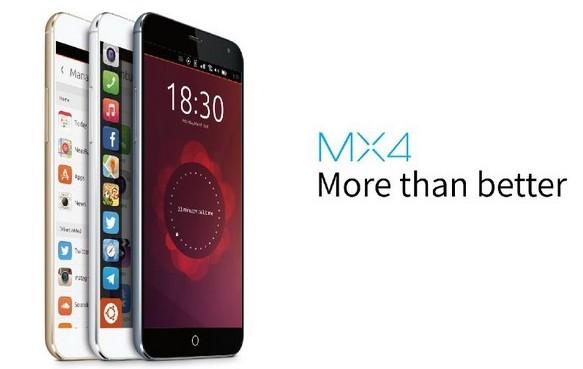Meizu MX4 Ubuntu mwc une
