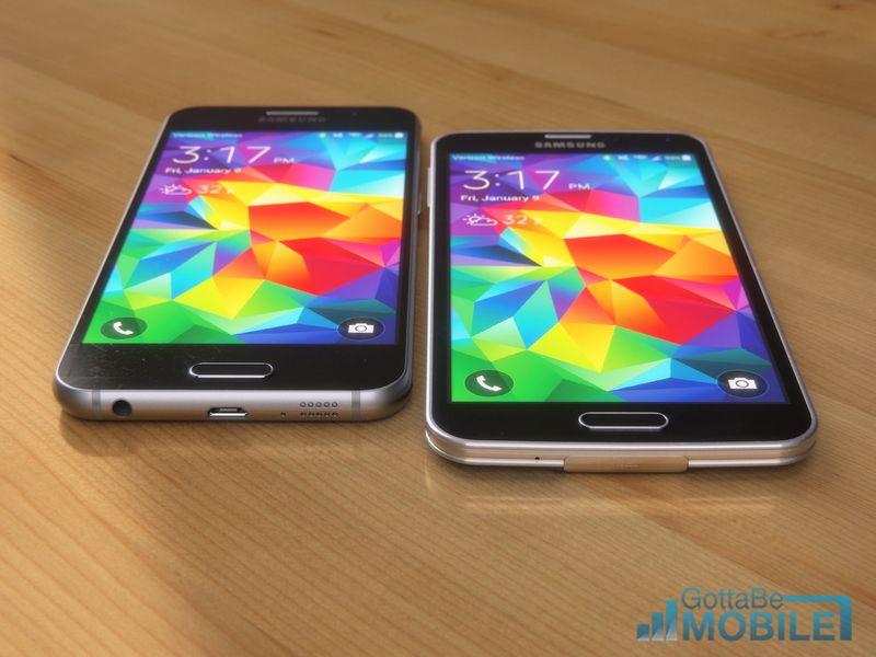 Galaxy S6 vs Galaxy Alpha