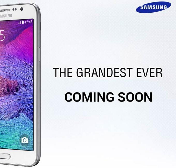 Le Galaxy Grand 3 se dévoile