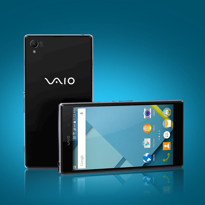 premier smartphone VAIO