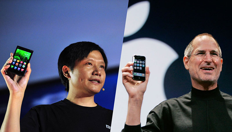 xiaomi temps passe applications iphone
