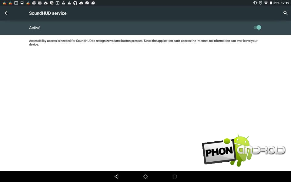 Activer mode silencieux Android Lollipop