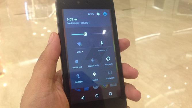 Android 5.1 Lollipop Paramètres rapides