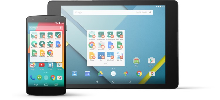 Android for Work est maintenant officiel